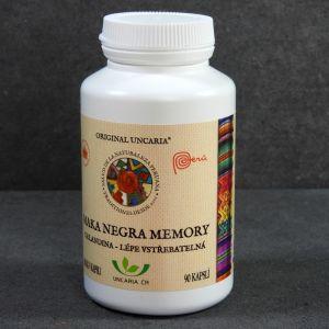 Maca- Maka Negra Memory Orginal Uncaria w kapsułkach